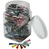 "Dimebag Hardware - 25sets 1"" Phillips Colors"