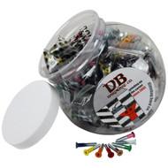 "Dimebag Hardware - 50sets 1"" Phillips Colors"