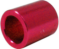 Aluminum Micro Spacer 8mm Red (for 688 bearings)