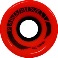 Paradise Wheels - 59mm 78a Cruisers Red