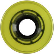 Quad/Roller Skate Wheels - 56mm x 32mm Yellow 85a