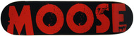 Moose Deck Bold Logo Red 8.0""