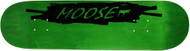 Moose Deck Scribble White Green 8.0""