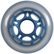 Inline Wheel - Blue/Cloudy 76mm 86A 5-Spoke