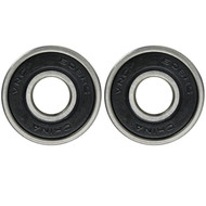 Econo Bearing Rubber Shield Black/Black (Single Bearing)