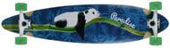 "Paradise Longboard 41"" Bamboo Inlay Pintail Lazy Panda"