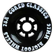 Bigfoot Wheel - 97mm 78a Cored Classics Black