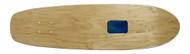 "Rolling Tray Cruiser Deck 7.75"" x 30"" Natural/Blue"