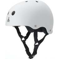 Triple 8 Helmet Sweatsaver White Rubber Large