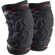 Triple 8 Knee Pads ExoSkin Black Medium