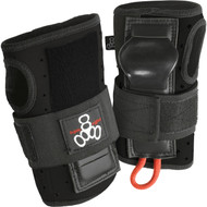 Triple 8 Wrist Guards Roller Derby Wristsaver Black Medium