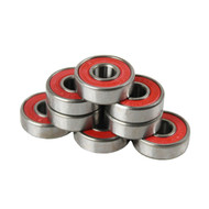 Bullseye Bearings - Abec 9 Red Shields - Tube of 8