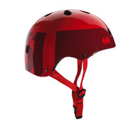 661 Dirt Lid Helmet Red Certified OSFA