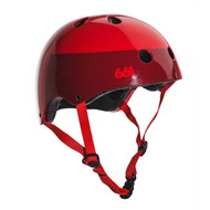 661 Youth Dirt Lid Helmet Red Certified S/M
