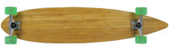 "Moose Longboard 43"" Bamboo Pintail / Bigfoot Pathfinder Green"