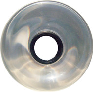 Longboard Wheel - 76mm 78a Offset Clear