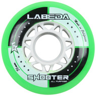 Labeda Hockey Wheel Shooter All Purpose Green 76mm