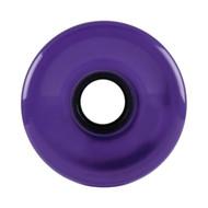 Longboard Wheel - 76mm 78a Offset Translucent Purple
