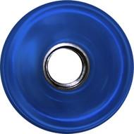 Longboard Wheel - 76mm 78a Offset Translucent Blue
