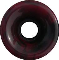 Longboard Wheel - 70mm 78a Offset Swirl Red/Black