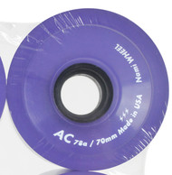 70mm x 51mm 78A Clear Purple USA Wheel