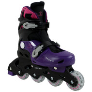 Krown Superspeed Adjustable Inline Skates Girls Size M (3.5 - 6)