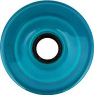 Longboard Wheel - 76mm 78a Offset Translucent Aqua