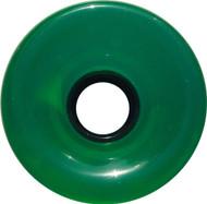 Longboard Wheel - 76mm 78a Offset Translucent Green