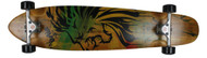 "Bustin Boards Longboard Burning Spear Kicktail 9.3"" x 40"" Method / Kryptonics"