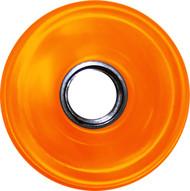 Longboard Wheel - 76mm 78a Offset Translucent Orange