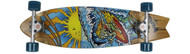 "Bustin Boards Cruiser Surfy Surfy 8.8"" x 32.5"" Method / Arbor"