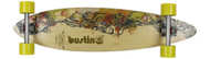 """Bustin Boards Longboard Fire & Water 36 Pintail 8.7"""" x 36"""" Caliber / Sector 9"""