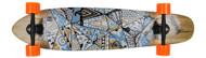 """Bustin Boards Longboard Complete Scout Native Way 9.3"""" x 40"""" Skateboard"""