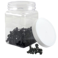 "Dime Bag Hardware - 100pcs 7/8"" Phillips Black Loosies"