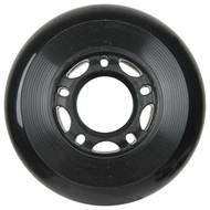 Inline Wheel 70mm x 24mm Black