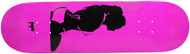 Moose Deck Girl Silhouette Pink 8.25""