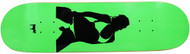 Moose Deck Girl Silhouette Green 8.25""