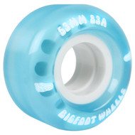53mm Bigfoot 83A Cruiser Blue Wheels (Set of 4)