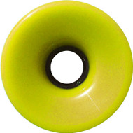 Longboard Wheel - 76mm 78a Offset Solid Yellow