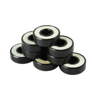 Bullseye Bearings - Abec 7 White Shields - Tube of 8