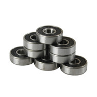 Bullseye Bearings - Abec 9 Black Shields - Tube of 8