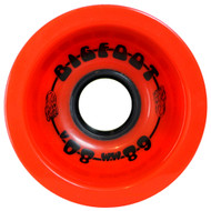 Bigfoot Wheel - 68mm 80a Boardwalks Red