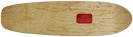 "Rolling Tray Cruiser Deck 7.75"" x 30"" Natural/Red"