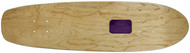 "Rolling Tray Cruiser Deck 7.75"" x 30"" Natural/Purple"