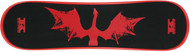 "Krown Snowskate 9"" x 32"" Dragon Red"