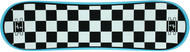 "Krown Snowskate 9"" x 32"" Checker Cyan Blue"