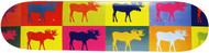 "Moose Deck Pop Art 8.25"""