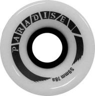 Paradise Wheels - 59mm 78a Cruisers White