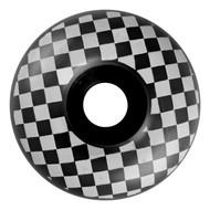 Graphic Wheel - 58mm Checkered Black/White (Set of 4)