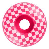 Graphic Wheel - 52mm Checkered Pink/White (Set of 4)